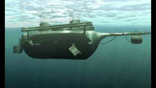 Подлодка Шильдера / The first Russian combat iron submarine