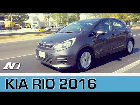 Kia Rio 2016 - Primer Vistazo