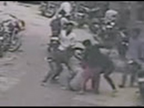 Caught on Camera Murder in New Delhi