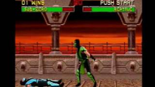 Mortal Kombat II - Gameplay - Mortal Kombat Shaolin Monks Port(PS2)