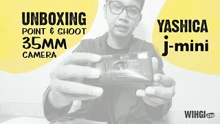 [UNBOXING] Kamera Point & Shoot Murah Meriah YASHICA J-Mini