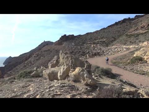 Parque Natural de Cabo de Gata - Almeria - Sendero Los Genoveses y Vela Blanca