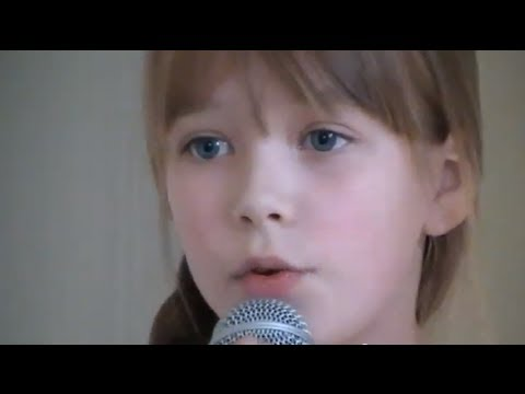 Connie Talbot - Someone Like You Adele cover (first version)