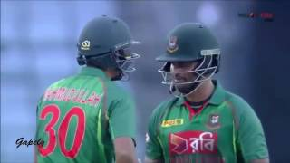 Tamim Iqbal 80 Runs Highlights From Bangladesh vs Afghanistan 1st ODI 2016