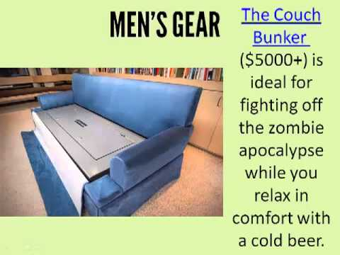 Bulletproof Couch With Gun Safe - Review on Men's Gear