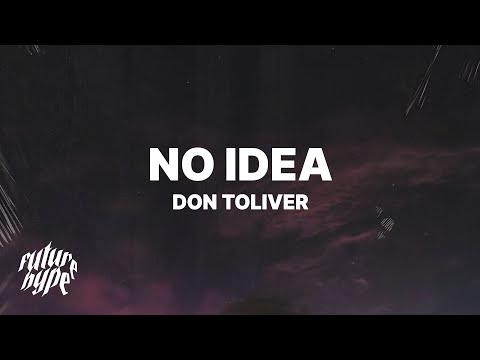 Download  Don Toliver - No Idea s Gratis, download lagu terbaru