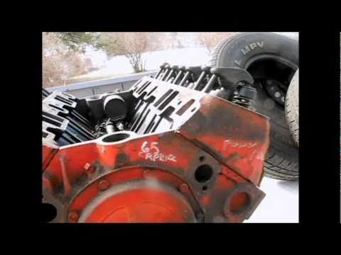 283 Chevy Engine Power Pack Heads Youtube