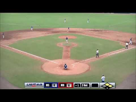 Maryland Baseball Academy VS. MS Royals  USSSA Baseball