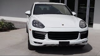 2017 Porsche Cayenne GTS St. Petersburg  Tampa  Clearwater  Bradenton  Palm Harbor