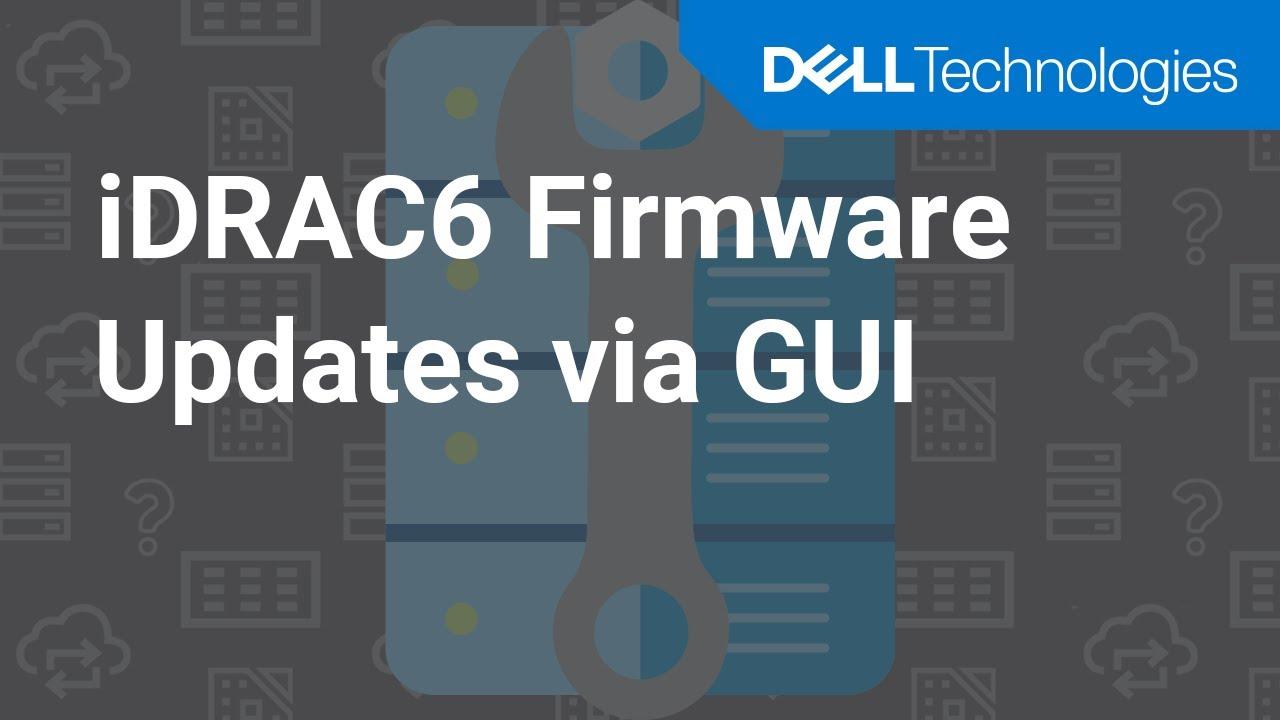 dell poweredge r610 idrac firmware update