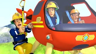 Fireman Sam US 🚒Sam Helicopter Adventure! 🚁 Fire Rescue | Best Rescue Compilation 🔥Kids Movie