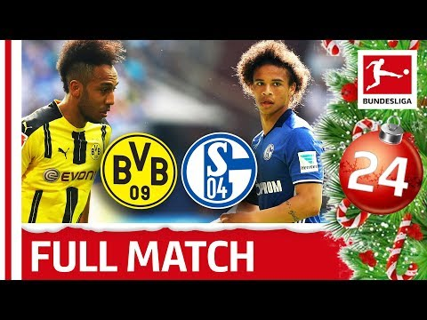 Dortmund vs. Schalke - Full Bundesliga Match 201516 - Bundesliga 2018 Advent Calendar 24