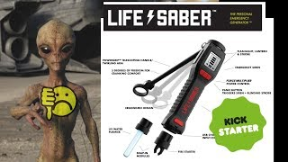 EEVblog #1251 - LifeSaber Kickstarter - A Master of None FAIL