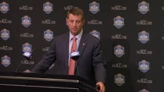TigerNet: Dabo Swinney previews ACC Championship Game