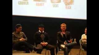 Zack Ward, Ian Petrella, Yano Anaya and Scott Schwartz in Hammond Indiana 12/04/2013