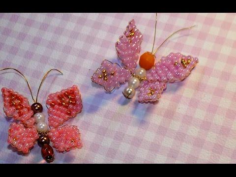 Бабочки из бисера для начинающих мастер класс с пошаговым фото