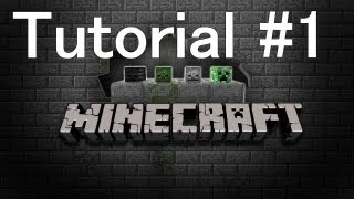 Minecraft - Tutorial #1 - Madera y Mesa de Crafteo - Wood and Crafting Table