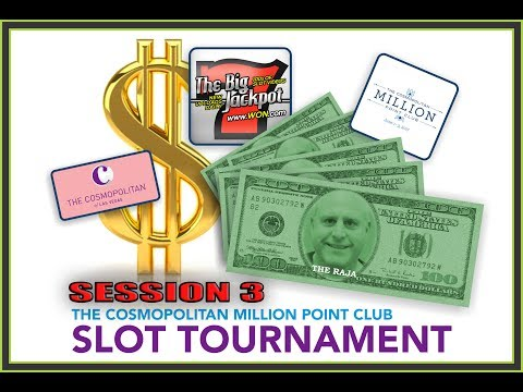 1 Million Point Slot Tournament   Session 3   Live From Cosmopolitan
