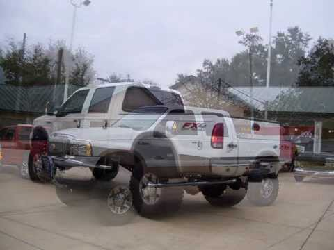 BIG BAD Ford Diesel 4x4 Trucks For Sale in Ocala Florida!!!!!