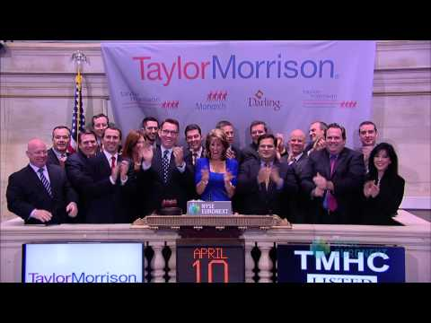 Taylor Morrison Celebrates IPO on the NYSE