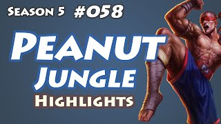 Najin Peanut - Lee Sin Jungle - KR LOL SoloQ Highlights