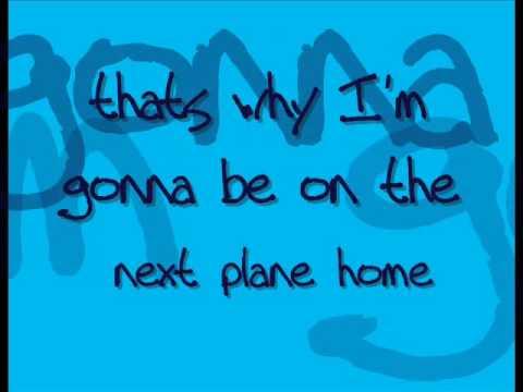 Daniel Powter Next Plane Home SONG&LYRICS