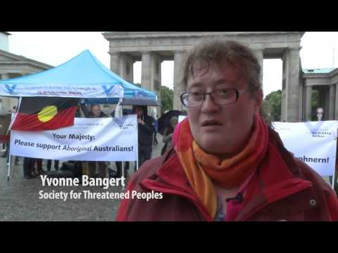 Society for Threatened Peoples in Berlin calls for a treaty for Indigenous Australians at CHOGM