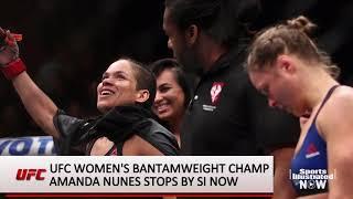 Amanda Nunes on UFC 232 Fight vs Cris Cyborg, Jon Jones' Return, More Sports Illustrated