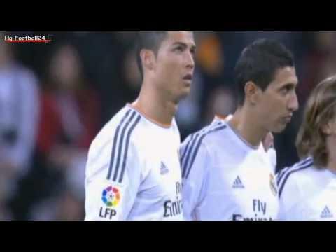 Cristiano Ronaldo Almost Crying At Minute of Silence For Eusebio ~ Real Madrid vs Celta Vigo HD