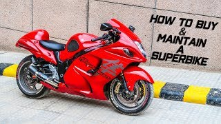 HOW MUCH MONEY YOU NEED TO OWN A HAYABUSA (actual cost)