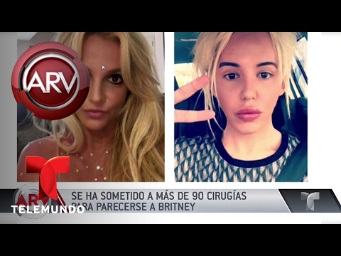 VIDEO: JOVEN GASTA USD $80,000 PARA LUCIR COMO BRITNEY SPEARS