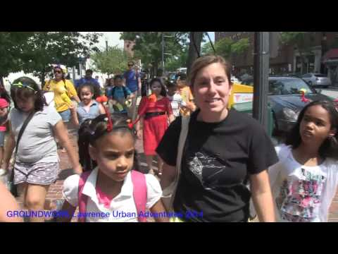 GROUNDWORK Urban Adventures Program Summer 2014