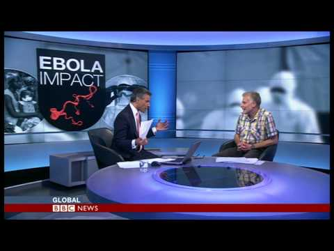 BBC World News: Health Poverty Action's Martin Drewry talks about Ebola and the health worker crisis