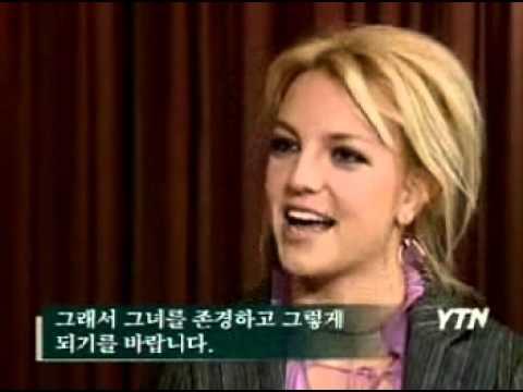 Britney Spears - YTN Korea Interview 2003