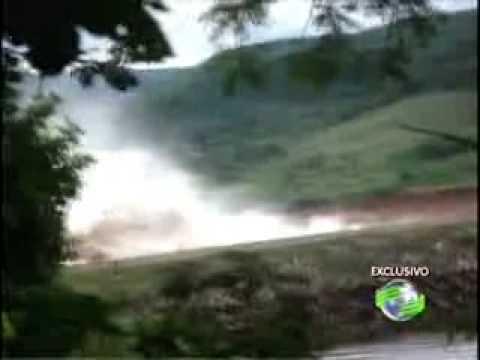 Imagens exclusivas do rompimento da barragem