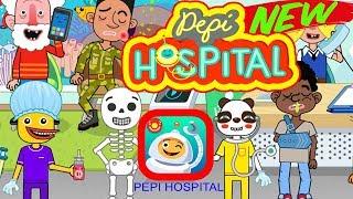PEPI HOSPITAL | Full Game play | Best iPad app demo for kids
