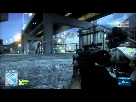 Battlefield 3 Expert Sniper on Tehran Highway Team DM 89-13 21377 pts