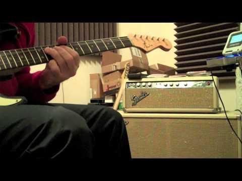 Otis Rush/Magic Sam Jam on a 1960 Fender Bassman/1964 Super Reverb Combo