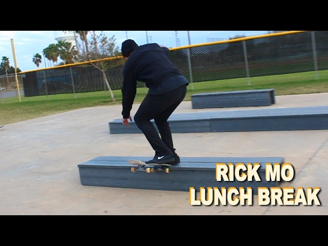 Rick Mo Lunch Break - Switch Tail Slide Flip Out