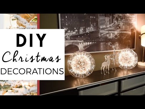Christmas Decorations - Sparkle Ball Demonstration