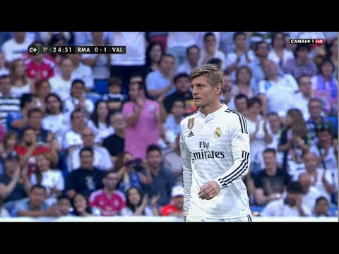 Toni Kroos vs Valencia (H) 14-15 720p HD