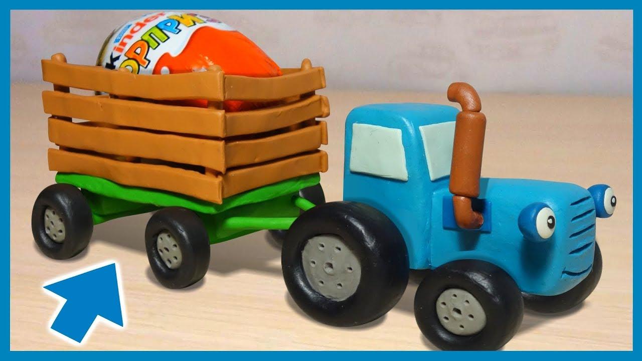Машинки из пластилина мультики почбоба 11