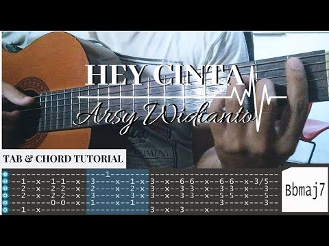 Download Arsy Widianto - Hey Cinta || TAB & Chord Tutorial || Karaoke Mp4 baru