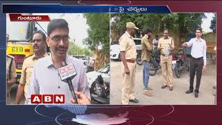 Transport Officers Seized Unfit School Buses | Guntur