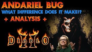 Diablo 2: Andariel Bug, Drop Comparison (WORTH IT!?)