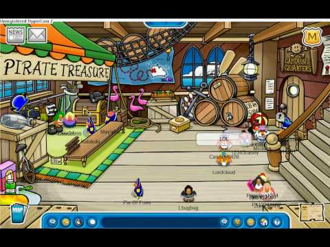 Club Penguin- Rockhopper