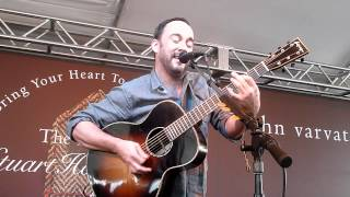 Dave Matthews - Funny The Way It Is - 3.11.12 - West Hollywood - Stuart House Benefit
