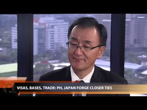 Visas, bases, trade: PH, Japan forge closer ties