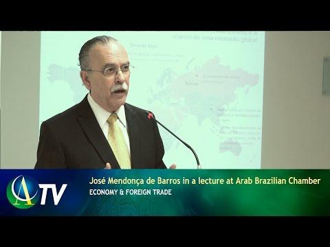José Mendonça de Barros in a lecture at Arab Brazilian Chamber