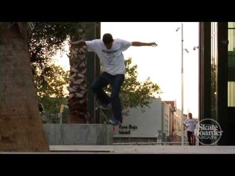 Skateboarder Magazine's Exclusive Enrique Lorenzo Part